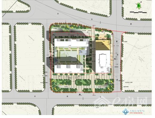 附:设计方案主要图纸(批前公示)    无锡市规划局梁溪分局    2018