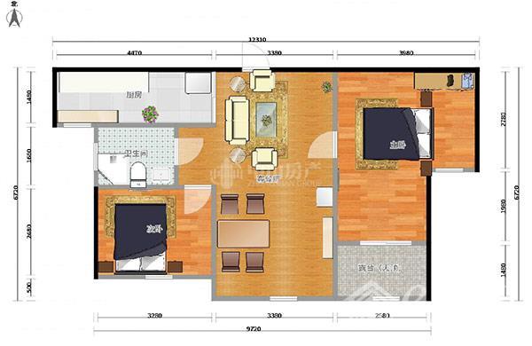 梁溪区梧桐水岸,两室一厅一卫,面积89.86平方米,两房朝南,精装修,户型方正,该房位于小区中间位置,总价140万,看房有钥匙!
