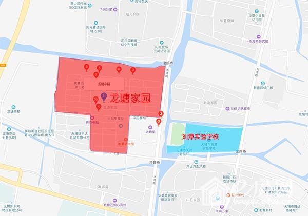 南北通透 全明结构 龙塘家园 两房全新精装81.61平89.