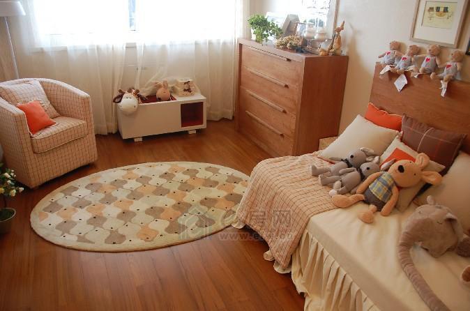 上易装饰儿童房装修效果图 11万装出超q温馨窝