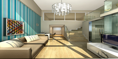 无锡龙山大厦龙山公寓客厅