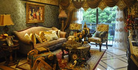 无锡惠山万达广场新古典主义风格3室2厅2卫125平米