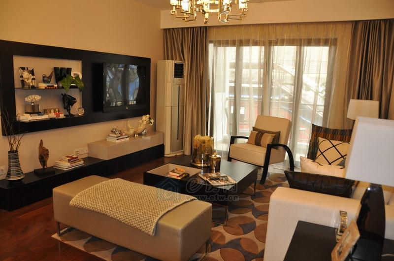 魅力万科城·酩悦样板房客厅图片照片