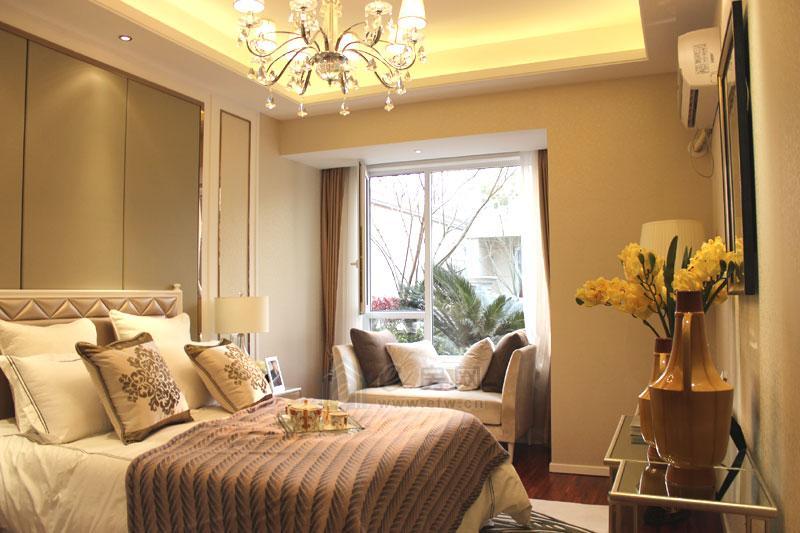 无锡孔雀城 样板房鉴赏 110㎡三室两厅一卫高清图片