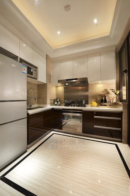 富力十号样板房厨房图片照片