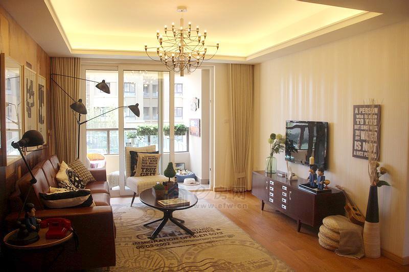 新酩悦样板房客厅图片照片