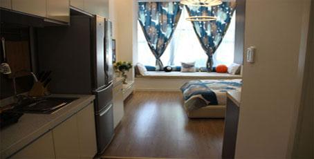 无锡梦享城S1户型1室1厅1卫约36-54平米
