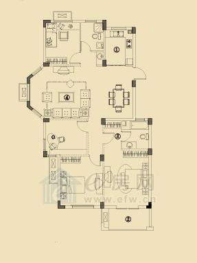 开元云龙谷 4室2厅2卫