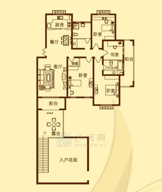香溪左岸 4室2厅2卫