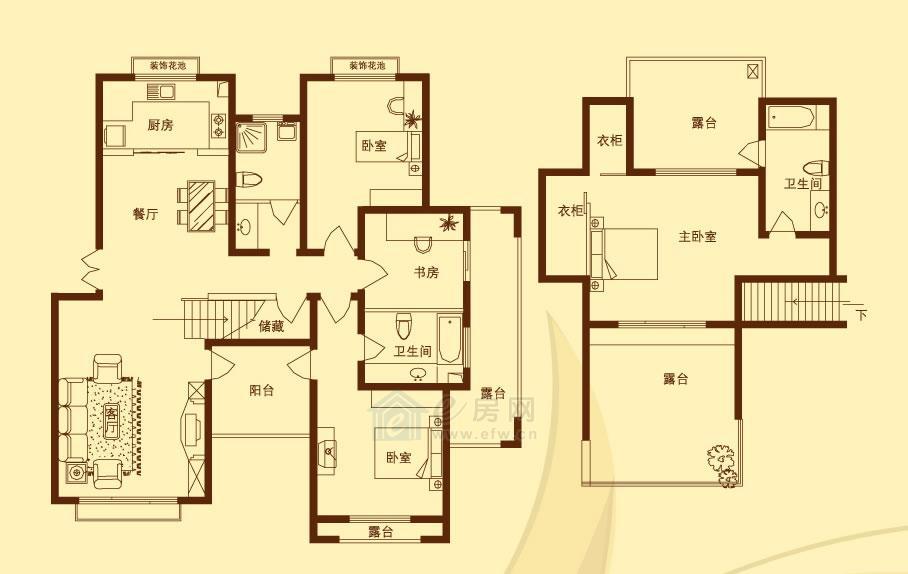 香溪左岸 4室2厅3卫