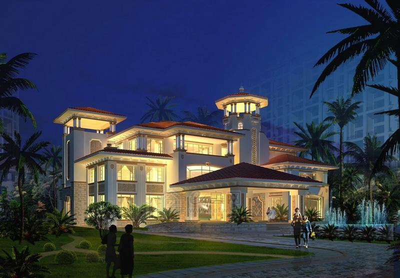 设计图分享 4间三层楼设计图  宾馆三层楼设计图 宽309×333高 甘肃