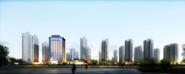荣盛・香榭兰庭  沿街夜景